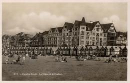 BELGIQUE - FLANDRE OCCIDENTALE - KNOCKE ZOUTE - La Digue Et Le Carlton. (n°613). - Knokke