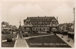 BELGIQUE - FLANDRE OCCIDENTALE - KNOCKE ZOUTE- Place Albert, Hôtel Memline. (n°614). - Knokke