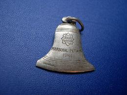 Souvenir De L'inauguration De Notre Dame Rillier Par Le Marechal Pétain - Badges & Ribbons
