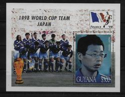 GUYANE   BF 298 * *  ( Cote 7e )  Cup  1998  Football Fussball  Soccer Okada - Coupe Du Monde
