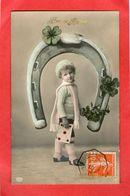 ENFANT - Bonne Année - Fer à Cheval - 1910  - - Enfants