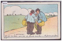 SATIRIQUE POLITIQUE - L'AFFAIRE - Y A PAS DE FUMEE SANS FEU - TB - Other