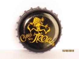 Capsules Ou Plaques De Muselet  Bière CUVÉE DES TROLLS - Cerveza