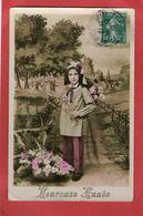 Petite Fille   - Heureuse Année - 1910 - - Enfants