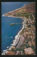 El Salvador. La Libertad. *Vista Aérea Del Puerto...* Circulada 1958. - El Salvador