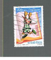 ITALIA REPUBBLICA  - UNIF. 3219 -  2010  EUROPA (PINOCCHIO)    - USATO - Europa-CEPT