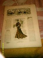 Journal De Famille La Mode Illustrée  No 37 ( Avec Planche De Patrons 50 Ct) De 45em Année Du 11 Septembre 1904 _6 Pages - Mode
