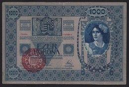 ÖSTERREICH-UNGARN-Hungary -  1000 Kronen Mit Stmpl. Magyarorszag 1902 - Hungría
