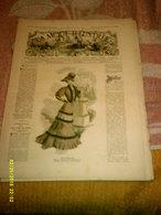 Journal De Famille La Mode Illustrée  No 39 ( Avec Planche De Patrons 50 Ct) De 45em Année Du 25 Septembre 1904 _6 Pages - Mode