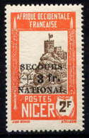 NIGER - 92* - FORTERESSE DE ZINDER / SECOURS NATIONAL - Neufs