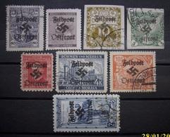 Dt.Reich Occupation Tschechoslowakei Mit Aufdruck ! Gestempelt      (K120) - Ocupación 1938 – 45