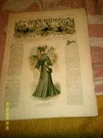 Journal De Famille La Mode Illustrée  No 41 ( Avec Planche De Patrons 50 Ct) De 45em Année Du 9 Octobre 1904 _6 Pages - Mode