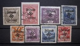 Dt.Reich Occupation Tschechoslowakei Mit Aufdruck ! Gestempelt      (K121) - Ocupación 1938 – 45