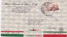 Brief In Die Schweiz (br2864) - Mexique