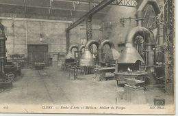 Cluny - Ecole D'Arts Et Métiers - Atelier De Forge - Cluny