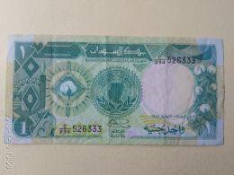 1 Pound 1987 - Sudan