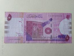 5 Pound 2007 - Soudan