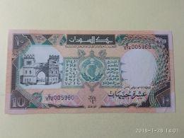 10 Pounds 1991 - Sudan