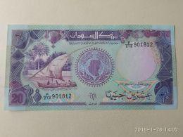 20 Pounds 1991 - Soudan
