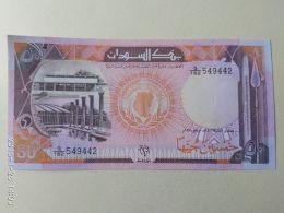 50 Pounds 1991 - Sudan