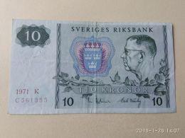 10 Kronor 1971 - Suède