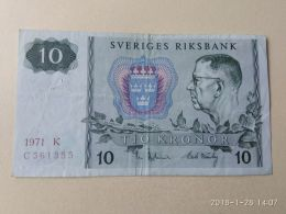 10 Kronor 1971 - Svezia