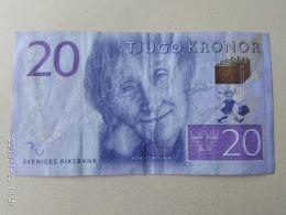20 Kronor 2015 - Suède