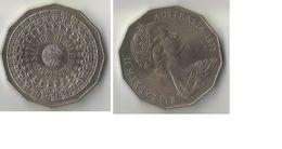 AUSTRALIE 50 CENTS 1977 - Monnaie Décimale (1966-...)