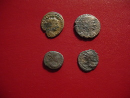 LOT ROMAINES : M27 - 4 PIECES - 4. Otras Monedas Romanas