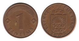Latvia / 2003 / 1 Santims / Km: 21 / VF - Lettonie