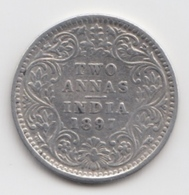 @Y@    Brits India   2  Annas   1897  (2279) - India