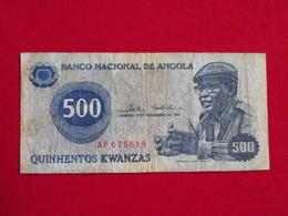 Angola - 500 Quinhentos Kwanzas 1976 Pick 112 TB / F ! (CLN32 ) - Angola