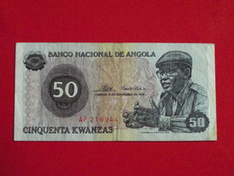 Angola - 50 Cinquenta Kwanzas 1976 Pick 110 TTB / VF ! (CLN34 ) - Angola