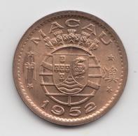 @Y@    Macao   1 Avos   1952   Unc   (2757) - Macau