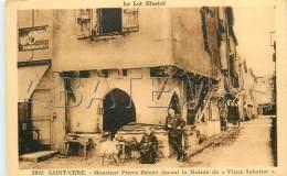 46444 SAINT CERE M PIERRE BENOIT DEVANT LA MAISON DU VIEUX SABOTIER SAINT CERE M PIERRE BENOIT DEVANT LA MAISON DU VIEUX - France