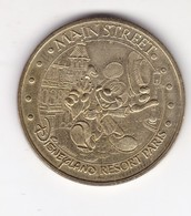 Jeton Médaille Monnaie De Paris MDP Disneyland Paris Main Street - 2004