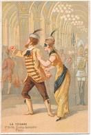 Chromo Hamelin Théâtre De La Renaissance LA TZIGANE Delacour Wilder Musique Johann Strauss Costumes Grévin Décors Cornil - Chromos