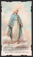 Madonna - Santa Immacolata Concezione - 1907 - Santini