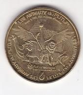 Jeton Médaille Monnaie De Paris MDP Futuroscope Les Animaux Du Futur - Monnaie De Paris