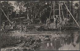 Gemming, Ratnapura, Ceylon, C.1940 - Plâté RP Postcard - Sri Lanka (Ceylon)