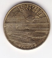 Jeton Médaille Monnaie De Paris MDP Paris Vedettes Du Pont Neuf 2012 - Monnaie De Paris