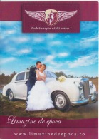 Romania - Program - Limousines For Rent For Wedding, Classic Cars, Retro - Boda
