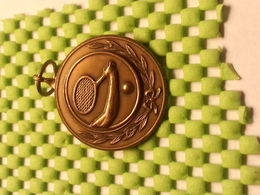 Medaille  / Medal - Tennis / Awn Tennis / - The Netherlands - Apparel, Souvenirs & Other