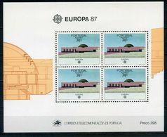 Açores YT Bloc 8 XX/MNH 1987 Europa - Açores
