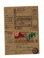 Mandat Contre Remboursement Cachet Saverne Sur Semeuse Taxee  Retour - Manual Postmarks