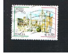 ITALIA REPUBBLICA  - UNIF. 3075 -  2008  ROMA CAPITALE     - USATO - 6. 1946-.. Repubblica
