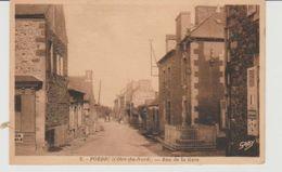 Côtes D'Armor PORDIC Rue De La Gare - France