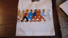 TINTIN SAC PLASTIQUE CASTERMAN HERGE - Tintin