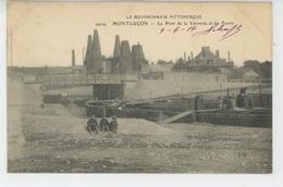MONTLUÇON - Le Pont De La Verrerie Et Les Fours - Montlucon