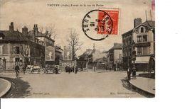 TROYES ENTREE DE LA RUE DE PREIZE - Troyes